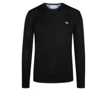 Rundhals-Pullover von Lacoste in Schwarz für Herren