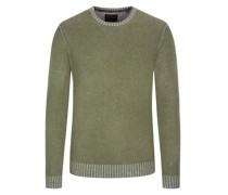 Pullover aus reinem Kaschmir  Oliv