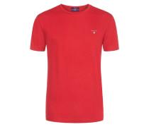 Lässiges T-Shirt aus 100% Baumwolle von Gant in Rot für Herren