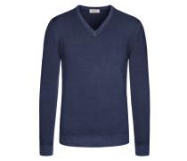 Weicher Pullover aus 100% Merinowolle von Heritage in Marine für Herren