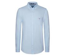 Button-Down-Freizeithemd, Oxford, uni von Gant in Hellblau für Herren