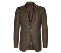 Sakko mit modischer Struktur, Tweed, Loro Piana von Tom Rusborg Premium in Braun für Herren