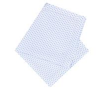 Einstecktuch mit kreisförmigem Muster von Tom Rusborg in Weiss für Herren