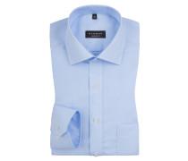 Comfort Fit Hemd mit extra langem Arm 68cm von Eterna in Hellblau für Herren