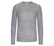Sweatshirt mit weitem Rundhalsausschnitt von Daniele Fiesoli in Marine für Herren
