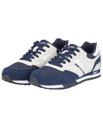 Ralph Lauren Herren Athletischer Sneaker, Slaton in Marine