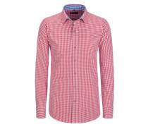 Trachtenhemd Regular Fit von Tom Rusborg in Rot für Herren