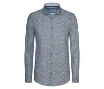 Trendiges Freizeithemd mit Paisley-Muster von Tom in Grau für Herren