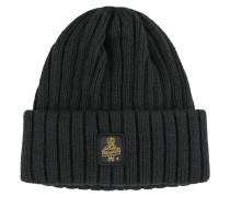 Warme Grob-Strick-Mütze von Refrigiwear in Schwarz für Herren