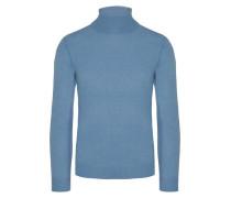 Hochwertiger Rollkragenpullover von Tom Rusborg Premium in Blau für Herren