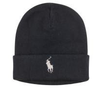 Baumwoll Strick Mütze von Polo Ralph Lauren in Schwarz für Herren