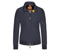 Leichte Jacke mit kontrastierenden Details, Blouson-Form von Parajumpers in Navy für Herren