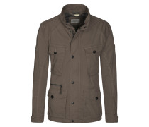 Fieldjacket im Washed-Look von Camel Active in Anthrazit für Herren