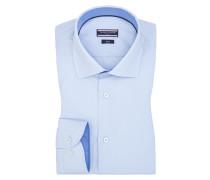 Businesshemd mit Kentkragen, Fitted von Tommy Hilfiger in Hellblau für Herren