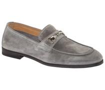 Loafer mit Silber-Verschluss