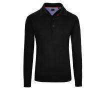 Pullover mit Polokragen von Tom in Schwarz für Herren