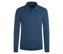 Polo-Kragen Sweatshirt, Regular Fit von Tom Rusborg in M.blau für Herren