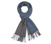 Bicolour Schal aus 100% Kaschmir von Tom Rusborg Premium in Blau für Herren