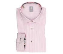 Gestreiftes Hemd, Custom Fit  Rose