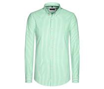 Freizeithemd, gestreift von Tom Rusborg in Gruen für Herren
