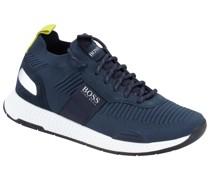 Sneaker Sock-Form, Titanium Runner  Marine