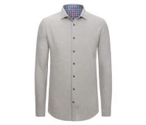 Weiches Leichtflanellhemd aus 100% Baumwolle von Tom in Anthrazit für Herren