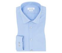 Slim-Fit Stretch Hemd von Calvin Klein in Hellblau für Herren