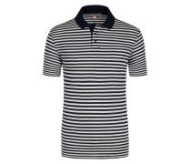 Poloshirt, Leinen-Mix von Armor-lux in Marine für Herren
