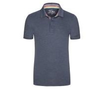 Poloshirt in Slub-Yarn-Optik von Tom Made In Heaven in Marine für Herren