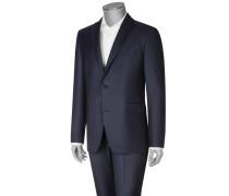 Nadelstreifen-Anzug, Comfort Fit von Eduard Dressler in Marine für Herren