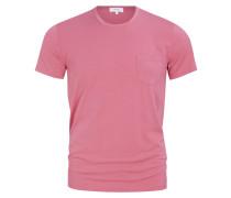 T-Shirt mit Brusttasche von Mey in Rosa für Herren