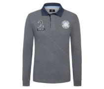 Modisches Rugbyshirt von Hackett in Grau für Herren