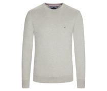 Sweatshirt mit rundem Kragen von Tommy Hilfiger in Grau für Herren