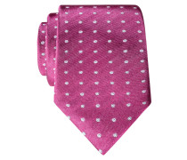 Modische Seidenkrwatte von Tom in Pink für Herren