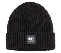 Grobstrickmütze von Polo Ralph Lauren in Schwarz für Herren