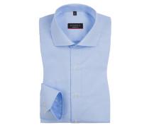 Modern Fit Hemd mit extra langem Arm 68cm von Eterna in Hellblau für Herren