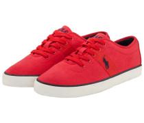 Canvas Sneaker in Rot für Herren