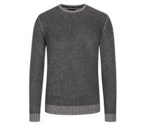 Pullover aus reinem Kaschmir  Anthrazit