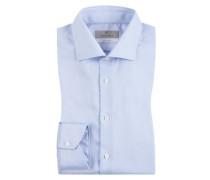 Businesshemd mit Kentkragen von Canali in Hellblau für Herren