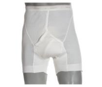Boxer Shorts, Doppelripp von Jockey in Weiss für Herren