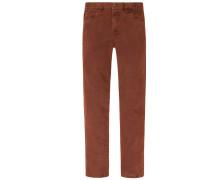 Bequeme Jeans mit Stretchanteil, Seth von Hiltl in Bordeaux für Herren