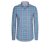 Kariertes Flanellhemd von Tom Made In Heaven in M.blau für Herren
