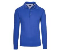 Pullover mit Polokragen von Tom Rusborg in Royal für Herren