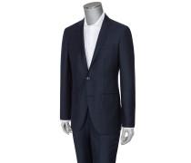 Edler Flanellanzug aus 100% Wolle von Hackett in Blau für Herren