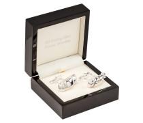 Oldtimer Manschettenknöpfe von Tom Rusborg Premium in Silber für Herren