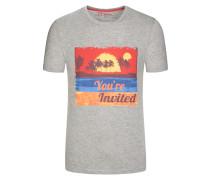 T-Shirt im Baumwollmix von Tom Made In Heaven in Grau für Herren