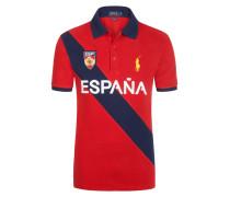Spanien Poloshirt, Custom-Fit von Polo Ralph Lauren in Rot für Herren