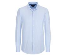 Gestreiftes Slim-Fit-Hemd, Ridley_41F von Boss in Blau für Herren
