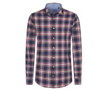Kariertes Baumwollhemd, Regular Fit von Tom Made In Heaven in Blau für Herren
