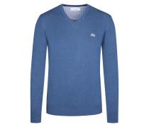 Pullover, V-Ausschnitt von Lacoste in Denim für Herren